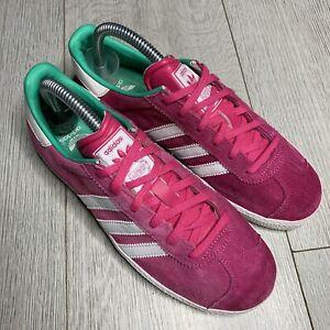 conseguir baratas nuevo estilo y lujo clásico Adidas Originals Gazelle Pink Suede Size 4 | eBay