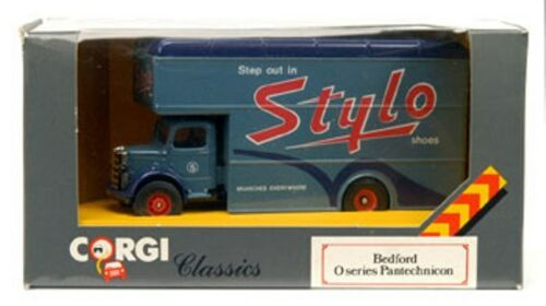 CORGI C953//1 C953//4 C953//9 BEDFORD PANTECHNICONS diecast model trucks 1:50th