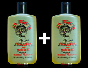 Details about 2 X Dr  Duck's Ax Wax Guitar Polish, String Lubricant &  Fretboard Cleaner