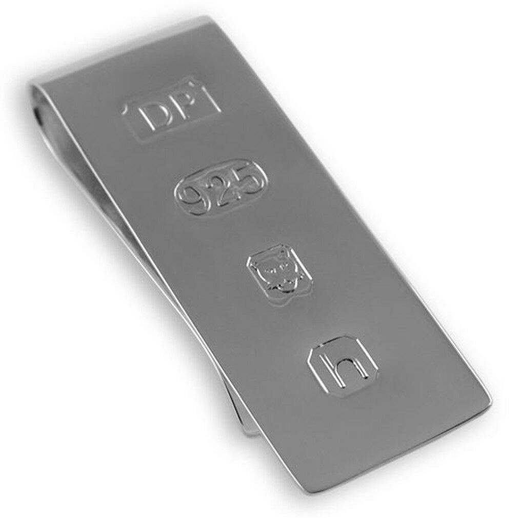 argentoo 925 925 925 Gemelli & Bond Fermasoldi - i Love Hovawart c13976