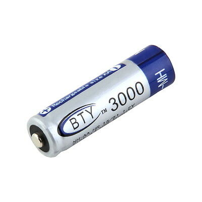 ET BTY Ni-MH AA 3000mAh 1.2V Rechargeable Battery For MP3 RC Toys