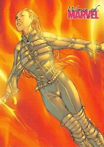 MAGMA-Women-of-Marvel-2008-BASE-Trading-Card-38