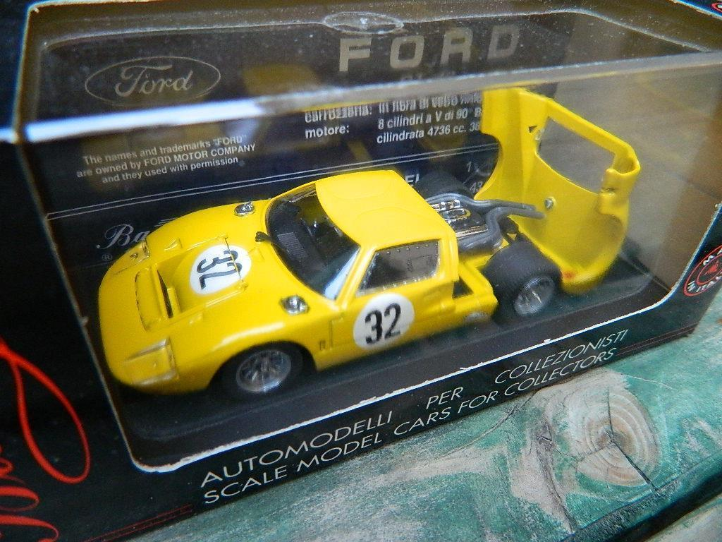 BANG 1 43 scale Ford GT 40 'SPA'  32 Mairesse-Beurlys 1968 NIB  454