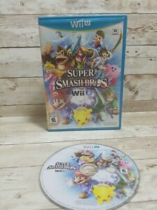 READ NO MANUAL Super Smash Bros. (Nintendo Wii U) *TESTED WORKING SHIPS FREE