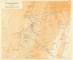Burma Campaign Imphal Battlefield 1944 World War 2 Manipur India