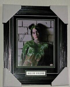 Billie-Eilish-Signed-Custom-Framed-Autographed-8x10-picture-COA-PAAS