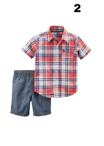 15591ae77 Carters Baby Boys Clothes Cotton Outfit Clothing Set 3