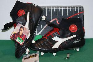 Vtg Supergoal Vintage Football Boots Basten Diadora Sc Van Hi Top C44Rvx