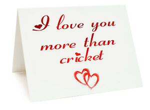 Anniversary Valentines Day Birthday Card I Love You More Than