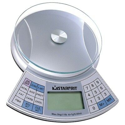 Starfrit Nutritional Kitchen Food Scale 11 pounds capacity