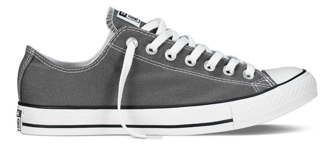 Scarpe casual da uomo Converse 1J794 : Unisex Chuck Taylor Classic Charcoal Sneaker