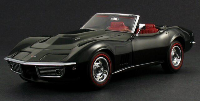 1 1970s Corvette Chevrolet Built Car 18 Vintage 24 Model Carousel Green 12 Promo