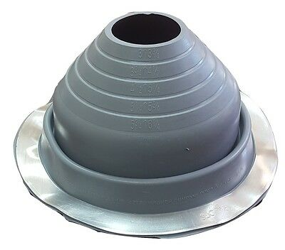 High Temp Metal Roofing Pipe Boot Flashing 1 4 Quot To 19