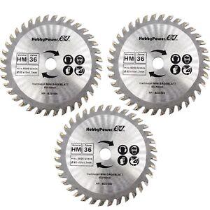 3-Stueck-HM-Kreissaegeblatt-85-x-10-mm-36-Zaehne-Mini-Saegeblatt-Handkreissaege-B30