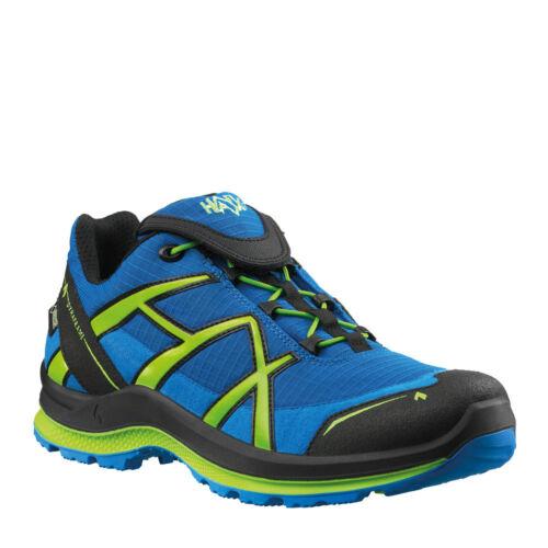 HAIX señora Adventure 2.1 calzado informal Blue-Citrus remanentes de venta