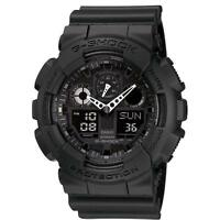Casio G Shock Mens Watch GA-100-1A1ER Alarm Chronograph