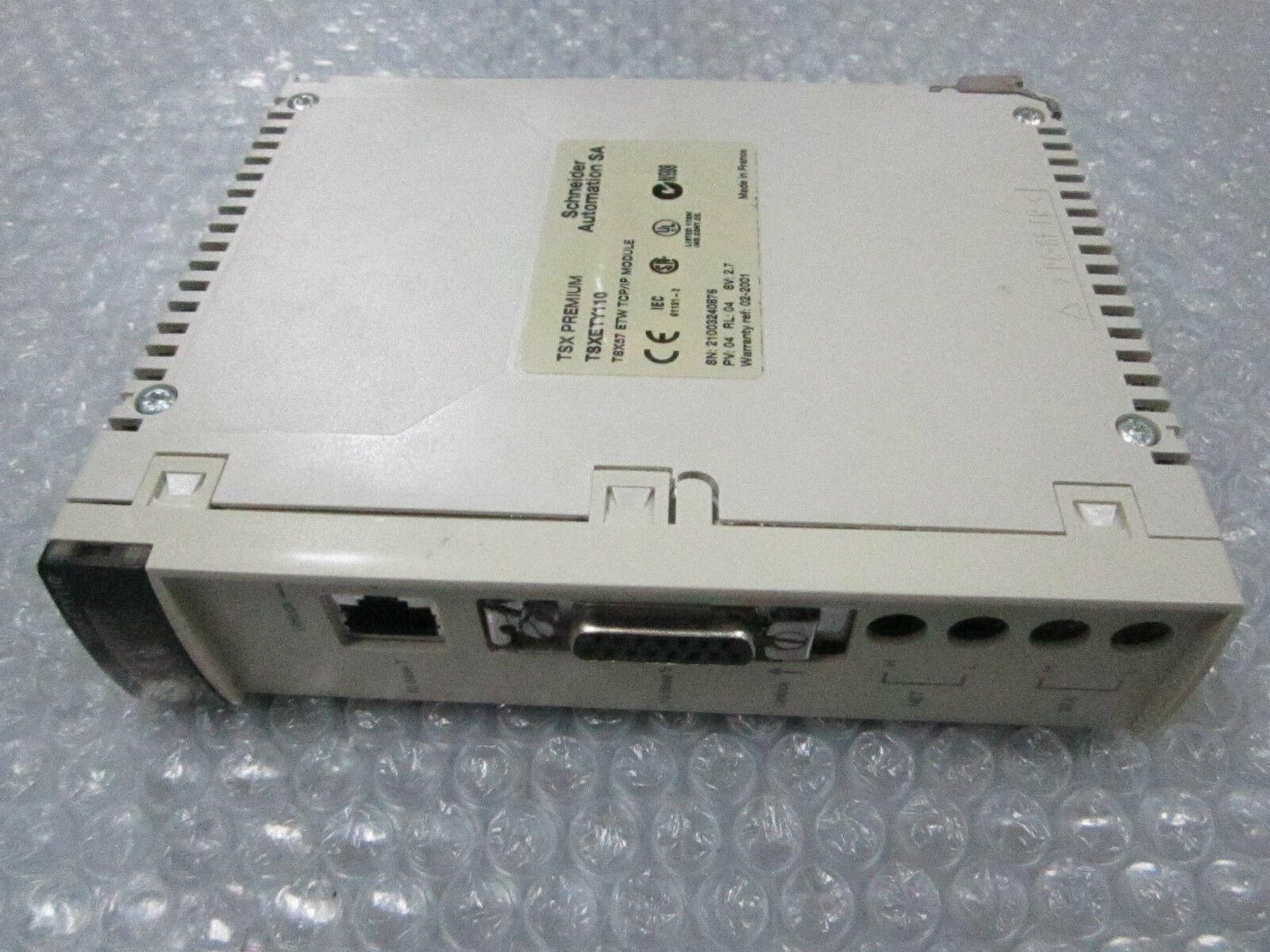Schneider Telemecanique TSX Premium TSXETY110 TSX57 ETW TCP//IP Module