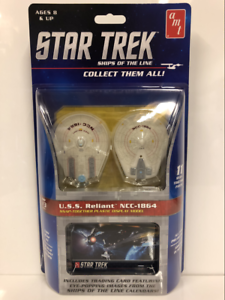 Star-Trek-U-S-S-Reliant-NCC-1864-a-Pression-Ensemble-Kit-AMT914-Neuf-Scelle