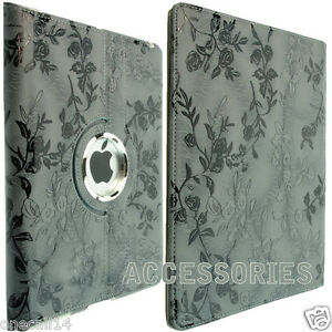 FOR-APPLE-IPAD-2-IPAD-3-360-ROTATION-FLORAL-LEATHER-CASE-COVER-WALLET-IPAD-4