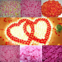 Silk Fabric Rose Flower Petals Wedding Scatter Confetti Table Party Decoration