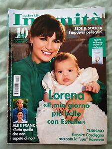 ITALIAN MAGAZINE INTIMITA N 28 7/19 LORENA BIANCHETTI ALE E FRANZ MARTINA NASONI