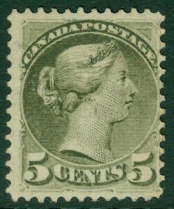 EDW1949SELL : CANADA 1876 Scott #38 VG-F, Mint No Gum. Nice color. Catalog $800.