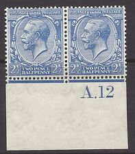 N21(-) 2½d Cobalt Violet Blue Royal Cypher with copy Hendon cert UNMOUNTED MINT