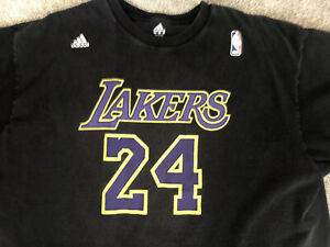 120 pieces, including shipping Kobe Bryant #24 Jersey T Shirt Size ...