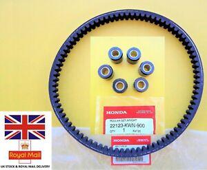 GENUINE-Honda-PCX125-PCX-125-WW125-Drive-Belt-amp-Rollers-2010-2012-2013-2014-2015