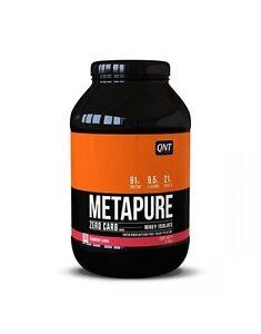 QNT-Metapure-Zero-Carb-FAT-FREE-isolato-di-proteina-di-siero-di-latte-in-polvere-FRAGOLA-908g