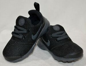 reputable site c096c 37a33 Details about Nike Presto Fly (TD) Black/Anthracit Toddler Boy's  Sneakers-Sz 5/6/7/8/9/10C NWB