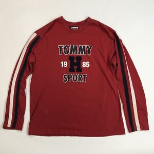 97c72dcf Vintage Tommy Hilfiger Long Sleeve Shirt Men's Large Tommy Jeans ...