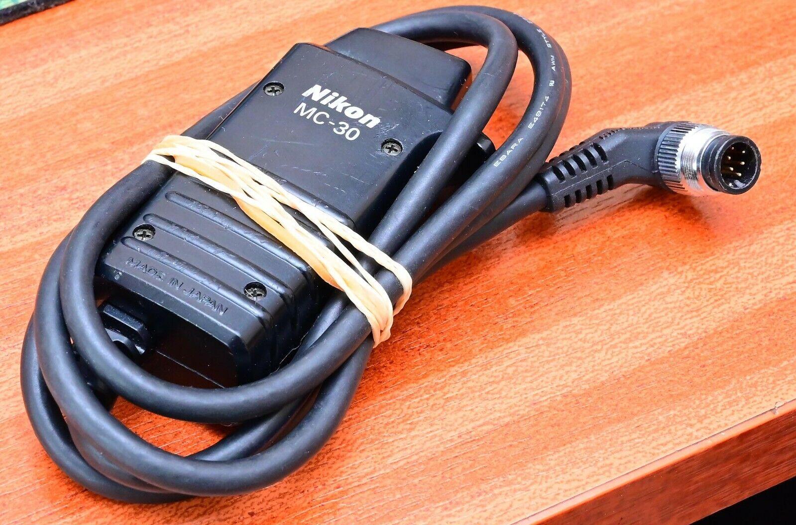 Nikon genuine MC-30 Remote Shutter Release in good condition