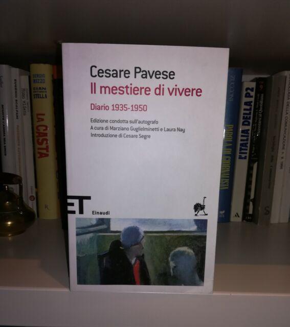 Il mestiere di vivere Cesare Pavese Einaudi 2010 edizione rara