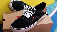 Authentic Levi's Men's Shoes Canvas Sneakers 11 M Black