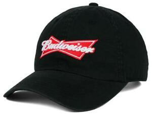 5937e0fb7deb1 New Budweiser King of Beers MIDNIGHT BLACK Bow-tie Logo Adjustable ...