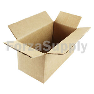 "10 6x3x2 ""EcoSwift"" Brand Cardboard Box Packing Mailing Shipping Corrugated"