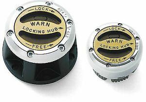 Manual locking asian hubs