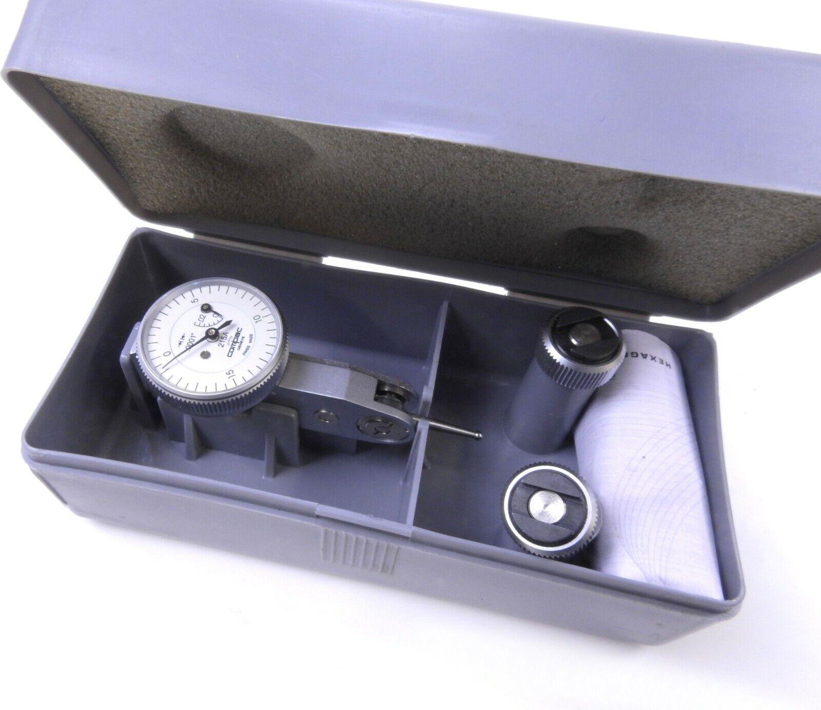 Brown & Sharpe TESA 215A Compac Dial Test Indicator