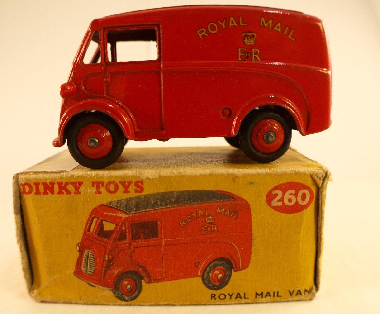 Dinky Toys Royal Box in Van Mail Morris 260 No  GB