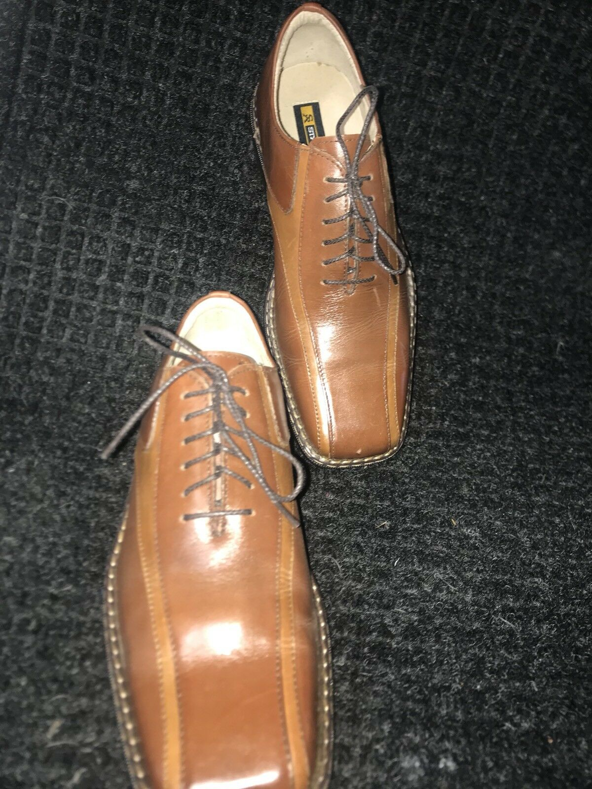 Stacy Adams Dress shoes  Tan Leather