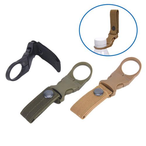 Sangle boucle crochet bouteille d'eau Pince Clip ceinture sac à dos en nylon
