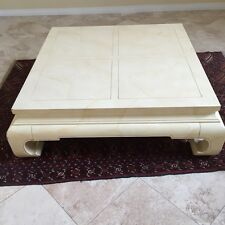 Henredon Asian Style Coffee Table Low Profile Mid Century Style