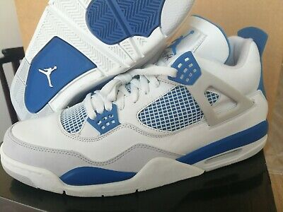 Nike air jordan 4 IV retro Military Blue 48,5 Eur 14 Us Jumpman Sneakers | eBay