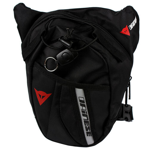 1* Praktische Motorrad Reise Herren Hüft Bauch Gürtel-Tasche Leg Bag Bein Tasche