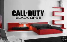 Call OF DUTY BLACK OPS Stile Logo ps4 XBOX Vinyl Wall Art Decalcomania/Adesivo