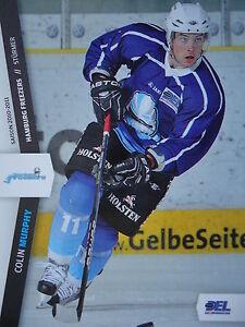 073 Colin Murphy Hamburg Freezers Del 2010-11-afficher Le Titre D'origine 9j6ztid2-08005038-286254184