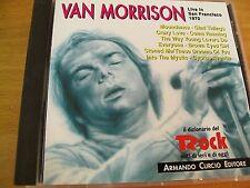 VAN MORRISON LIVE IN SAN FRANCISCO 1970  CD  CURCIO 1992 ITALY