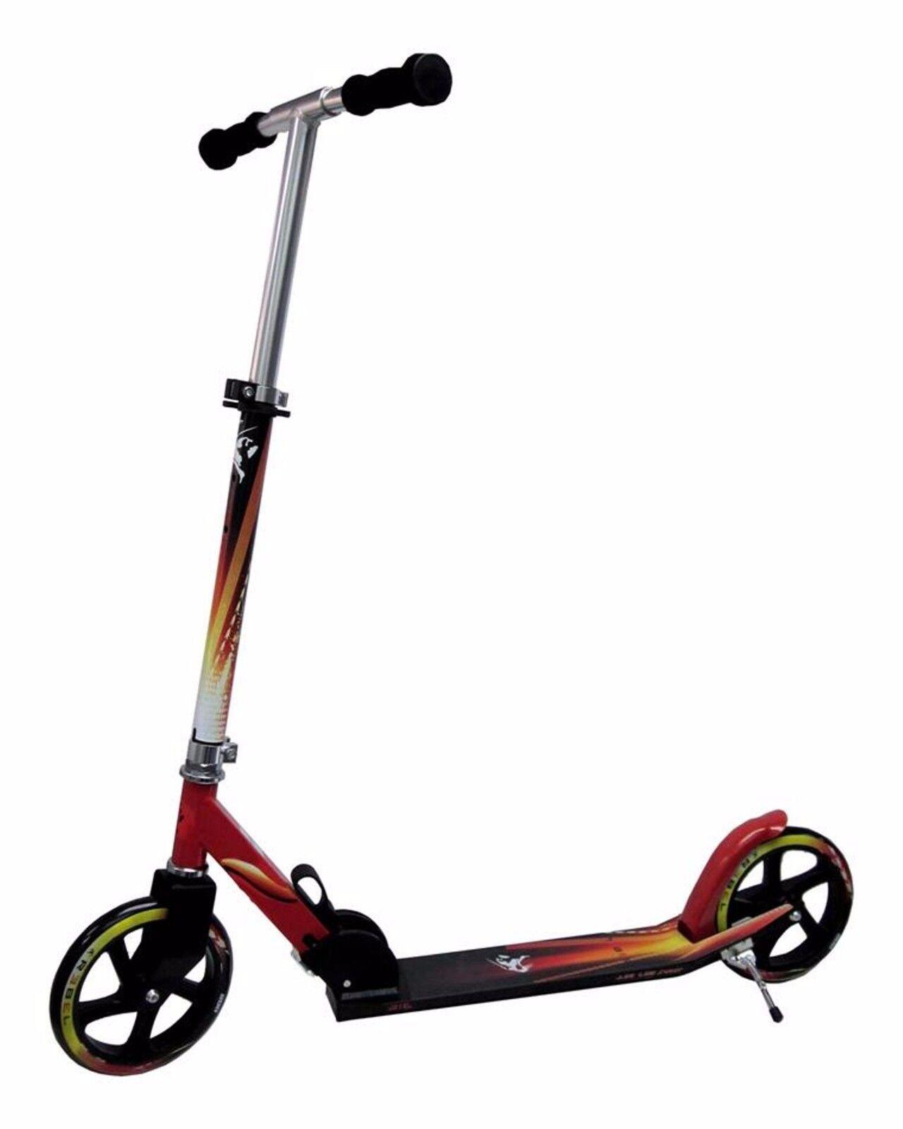Scooter Roller Big  205mm REBEL Low Rider Cityroller Kickboard