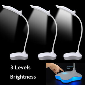 Tactile-Dimmable-Lampe-Table-Lecture-Bureau-LED-Chevet-Veilleuse-USB